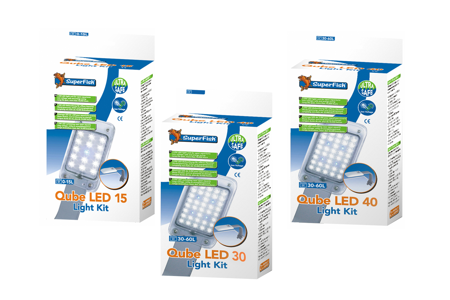 Superfish Qube LED → Dierencompleet.nl