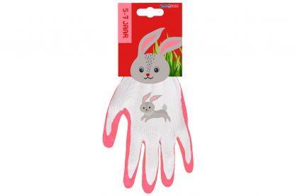 Talen Tools kinderhandschoenen 5-7 jaar konijn