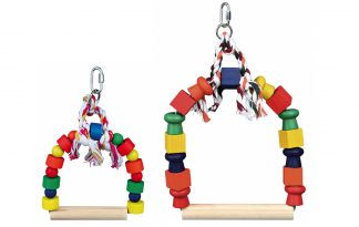 Trixie Colourful Arch Swing