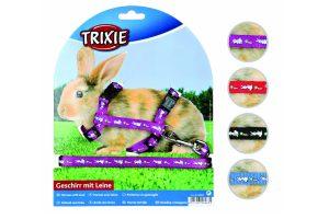 Trixie cavia- en konijnenharnas motief 125 cm