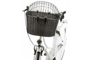 Trixie fietsmand met draadkap