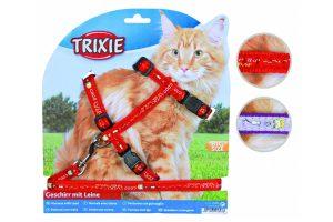 Trixie harnas kat groot, met print
