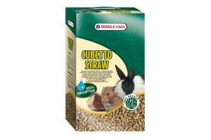 De Prestige Cubetto Straw strokorrels hebben een zeer hoog absorptievermogen en is daardoor een perfecte bodembedekker. Geschikt voor knaagdier- en konijnenverblijven, maar ook voor in terraria.