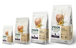 Vigor & Sage Cat Adult Ginseng Well-Being