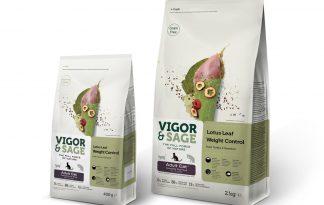 Vigor & Sage Cat Adult Lotus Leaf Weight Control