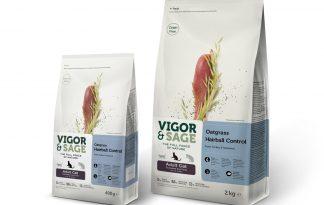 Vigor & Sage Cat Adult Oatgrass Hairball Control