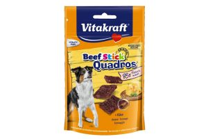 Vitakraft Beef sticks Quadros kaas