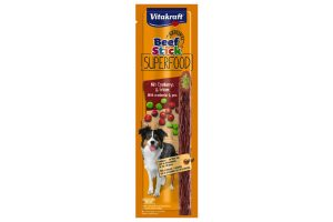 Vitakraft Beef Stick Superfood erwt en cranberry
