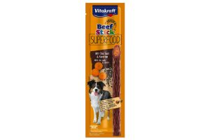 Vitakraft Beef Stick Superfood chiazaad en wortel