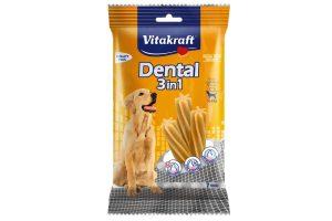 Kauwsnack ter ondersteuning van de gebitsverzorging. Het ondersteund dankzij de stervormige vorm de verwijdering van aanwezige tandplak en tandsteen.