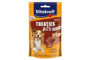 De Vitakraft Treaties Bits zijn onweerstaanbare vleeshapjes die licht gebakken zijn in eigen oven.