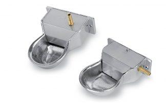 Vlotterbak aluminium klein