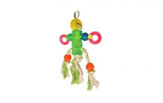 Vogelspeelgoed touw met TPR