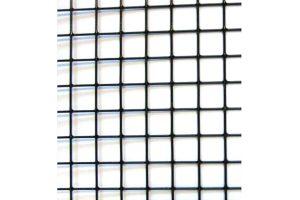 Volièregaas verzinkt gepoedercoat 12,7 x 12,7 mm