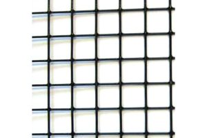 Volièregaas verzinkt gepoedercoat 16 x 16 mm