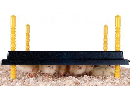 Comfort warmhoudplaat voor kuikens - 40 x 40 cm