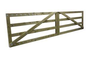 Weidepoort zware kwaliteit - 400 cm