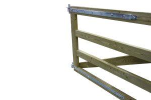 Weidepoort zware kwaliteit - scharnieren