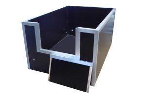 Werpkist betonplex - M
