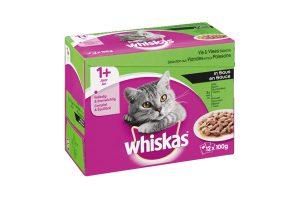 Whiskas Multipack vis & vlees selectie in saus