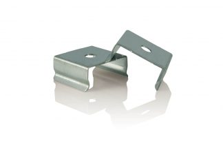 White Python LED metal clips